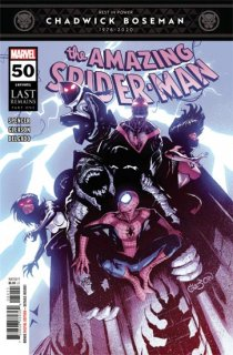 AMAZING SPIDER-MAN #50 LAST【再入荷】