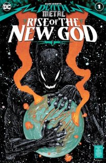 DARK NIGHTS DEATH METAL RISE OF THE NEW GOD #1 CVR A IAN BERTRAM