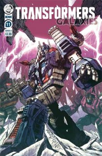 TRANSFORMERS GALAXIES #11 CVR B MILNE