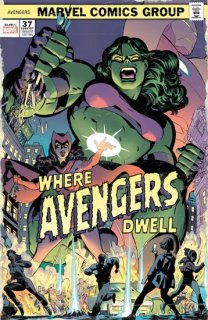 AVENGERS #37 RODRIGUEZ WHERE AVENGERS DWELL HORROR VAR【再入荷】
