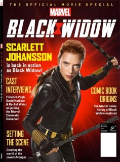 BLACK WIDOW OFF MOVIE SPECIAL NEWSSTANDS ED