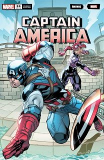 CAPTAIN AMERICA #24 MCGUINNESS FORTNITE VAR【再入荷】