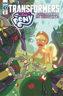 MY LITTLE PONY TRANSFORMERS #4 (OF 4) PITRE-DUROCHER