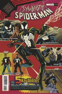 SYMBIOTE SPIDER-MAN KING IN BLACK #1 SUPERLOG VAR