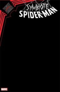 SYMBIOTE SPIDER-MAN KING IN BLACK #1 BLACK BLANK VAR