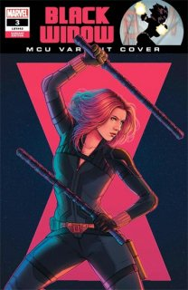 BLACK WIDOW #3 BARTEL MCU VAR【遅延入荷】
