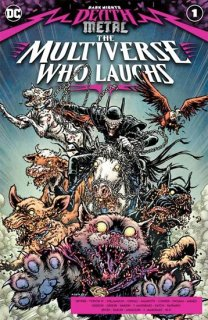 DARK NIGHTS DEATH METAL MULTIVERSE WHO LAUGHS #1 CVR A CHRIS BURNHAM