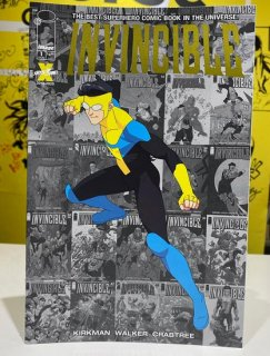 INVINCIBLE #1 GOLD FOIL LOGO LCSD 2020