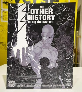 OTHER HISTORY OF THE DC UNIVERSE #1 (OF 5) CVR C METALLIC SILVER LCSD 2020 VAR