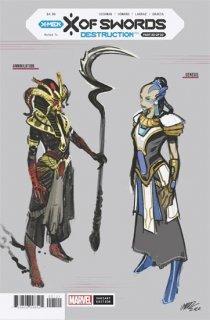 X OF SWORDS DESTRUCTION #1 LARRAZ DESIGN VAR