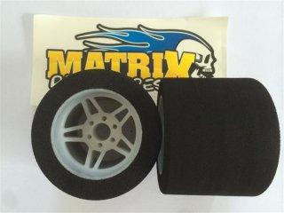 MATRIXタイヤ 1/8用 リヤ ライトウエイトホイル 35