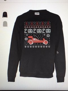 R/C Buggy Ugly Sweater Sweatshirt (トレーナー)