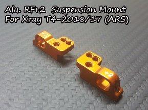 アルミRF + 2サスペンションマウント Xray用 T4-2018 / 17(ARS)TH066-XSM