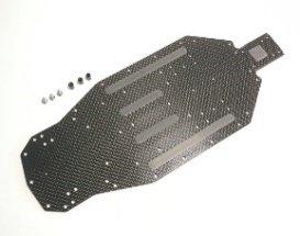 高品質カーボングラファイトシャーシ2.5mm Xray XB2用 BH801-X25