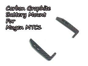 カーボングラファイトバッテリーマウント Mugen MTC1用 TH062-MB