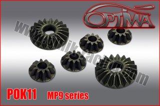 OPTIMA MP9 & GT3用  鉄デフギヤセット