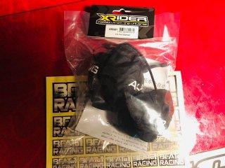 X-RIDER 1/5用タイヤウォーマー( 黒 )