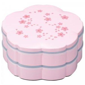 重箱 二段 オードブル 舞桜 ピンク 大