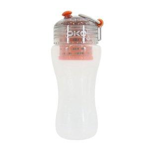 OKO オコ 浄水フィルター ボトル 550ml ろ過機能付 サン オレンジ