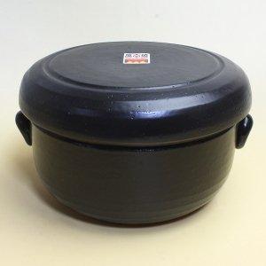 おひつ 電子レンジ対応 2合 陶器 萬古焼