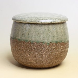 おひつ 電子レンジ対応 1.5合 陶器 伊賀焼 ビードロ釉 日本製