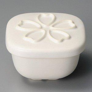 おひつ 電子レンジ対応 2合 陶器 桜白大 セラミック