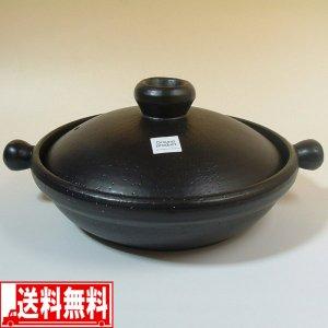 土鍋 IH対応 マジカルどなべ L(28.7cm) 黒