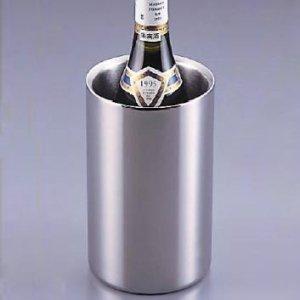ステンレス 二重 ワインクーラー ミラータイプ