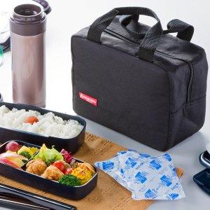 ランチバッグ 保冷 お弁当箱用 ブラック NV-UML2