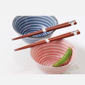 丼 ボウル ペアセット 美濃焼 日本の伝統柄 ちろり十草 日本製