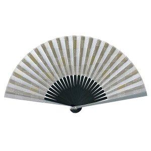 アルミ親骨 扇子 70型25間 京の石畳 男性用 女性用