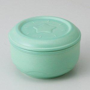 有田焼 ねぎっ庫 陶器 保存容器 グリーン