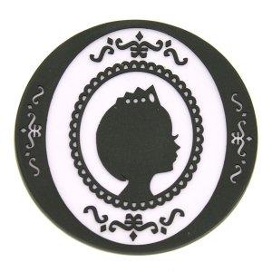 プリンセス PVCコースター パープル