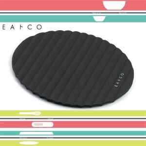 シリコン製 鍋敷き 鍋つかみ マット ブラック