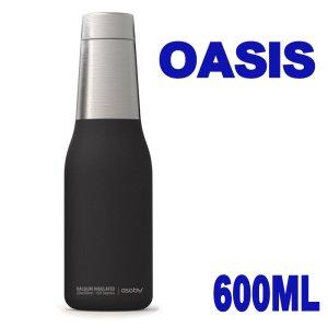 マグボトル アソブ オアシス ブラック 600ml 水筒 ステンレスボトル 保温 保冷 真空断熱 直飲み おしゃれ かわいい Asobu OASIS