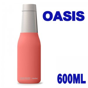 マグボトル アソブ オアシス ピーチ 600ml 水筒 ステンレスボトル 保温 保冷 真空断熱 直飲み おしゃれ かわいい Asobu OASIS