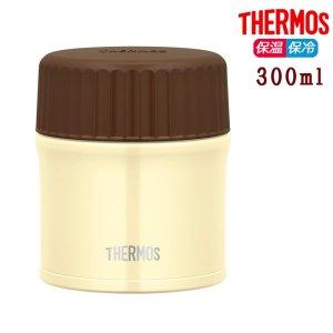 サーモス 真空断熱スープジャー 300ml JBU-300 ホワイト 保温 保冷