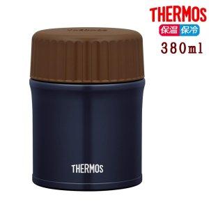 サーモス 真空断熱スープジャー 380ml JBU-380 ネイビー 保温 保冷