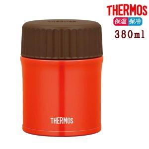 サーモス 真空断熱スープジャー 380ml JBU-380 レッド 保温 保冷