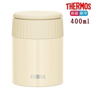 サーモス 真空断熱スープジャー 400ml JBQ-401 バニラ 保温 保冷