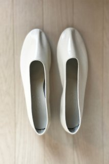 [Martiniano] Glove Leather フラットシューズ (Panna)