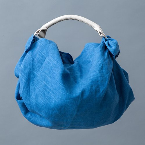 ふろしきキャリー/あおもり藍Aomori-ai 無地/あまいろ (あおもり藍産業協同組合)