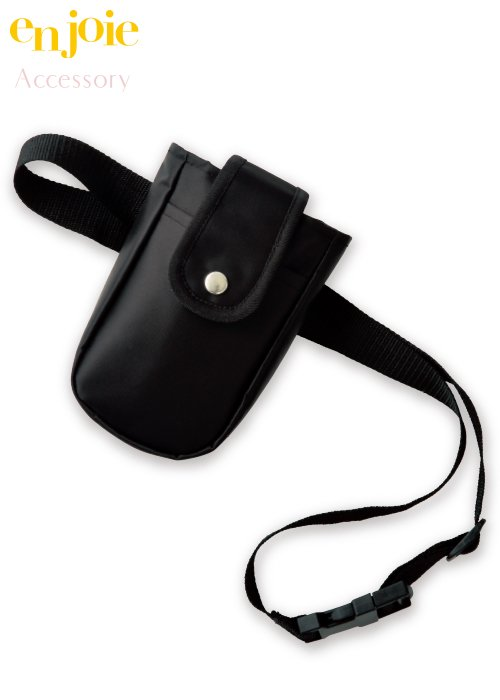 インカム以外も収納できる便利なポケット付きインカムポーチ|ジョア OP150