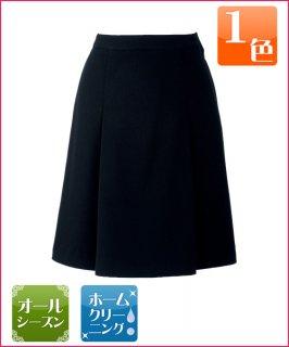 ストレッチヘリンボンで心地よいフィット感が人気のプリーツスカート
