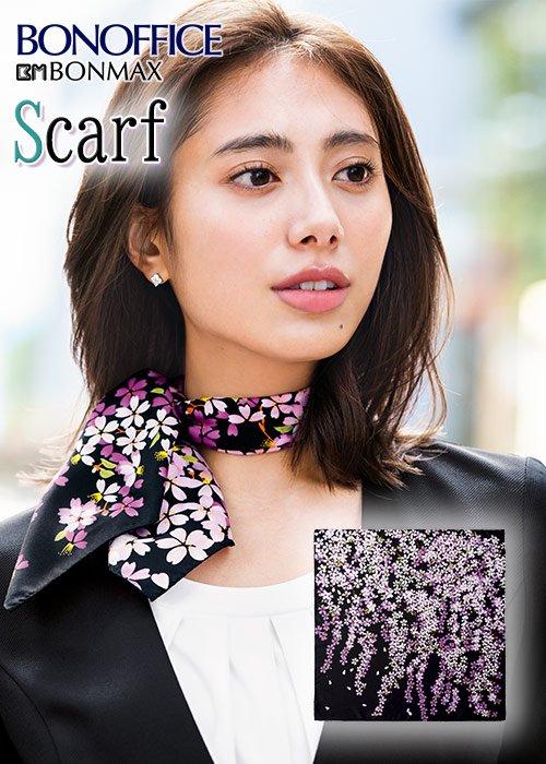 商品型番:BCA9114| 着こなしを1ランクアップさせる和柄スカーフ|ボンマックス BCA9114