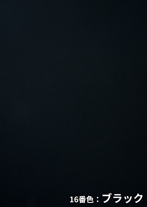 AS2320/16番色:ブラックの生地「ファインクロス」