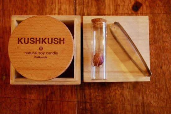 soy candle KUSHKUSH M Gift set