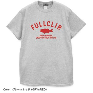 <img class='new_mark_img1' src='//img.shop-pro.jp/img/new/icons13.gif' style='border:none;display:inline;margin:0px;padding:0px;width:auto;' />GREAT FISH TEE|グレートフィッシュ Tシャツ(グレーボディー)