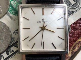 ZENITH ゼニスゴールドスター スクエア タンク 高級ブランドヴィンテージ腕時計Cal.2542 アンティーク手巻き メンズ z081101