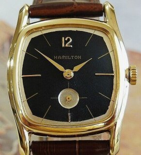 【完全OH&新品仕上済】超美品!!ハミルトンCRANSTON1952年アンティーク腕時計 手巻きメンズ【3ヶ月動作保証】 HAM19060602